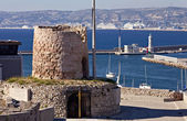 Memorial at the fort Saint-Nicolas, Marseille — Stock Photo