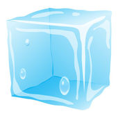 Ice-cube — Stock Vector