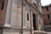 Marble Catholic church in Venice — Stock Photo