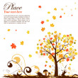 Royalty-Free Stock Vektorgrafik: Autumn Background