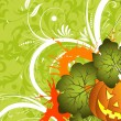 Halloween background - Image vectorielle