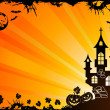 Halloween frame - Image vectorielle