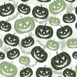 Halloween seamless background — Stock Vector #6697734