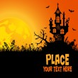 Halloween background - Vektorgrafik