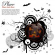 Royalty-Free Stock Vector Image: Abstract Halloween Background