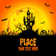 Royalty-Free Stock Vector Image: Halloween background