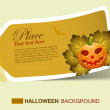 Halloween sticker — Stock Vector #6697803