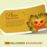 Halloween sticker — Stock Vector