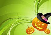 Halloween pozadí. — Stock vektor