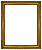Gold picture frame — Stockfoto