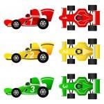 ������, ������: Formula car set