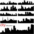 Royalty-Free Stock Vector Image: City background