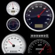 Royalty-Free Stock Vector Image: Set of speedometer
