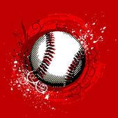 Grunge baseball — Stock Vector