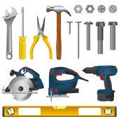 Tool set — Stock Vector