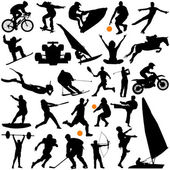 Collection of sports — Stock Vector