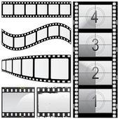 Set de película — Vector de stock
