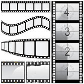 Set of film — Stock Vector