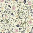Floral seamless pattern, vector design — Vettoriale Stock #6654184