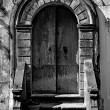 Stock Photo: Old portal