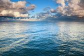 Blue sea sky, storm, tempest — Stock Photo