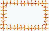 Höstens ram — Stockfoto