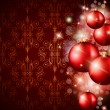 Royalty-Free Stock Vektorfiler: Merry Christmas Elegant Suggestive Background