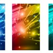 Royalty-Free Stock Vector Image: Abstract Glow of lights for Business Flyers