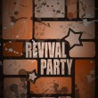 Royalty-Free Stock Vector Image: Retro\' revival disco party flyer