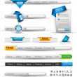 Royalty-Free Stock Vector Image: Set of search banners and web header