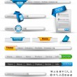 Set of search banners and web header — Vetorial Stock #6707204
