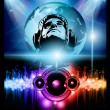 Alternative Discoteque Music Flyer - Stock Vector
