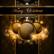 Elegant Merry Christmas background — Vector de stock