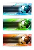Hi Tech business card or web header — Stock Vector