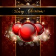 Elegant Merry Christmas  background  — Imagens vectoriais em stock