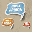 Royalty-Free Stock Vector Image: best choice retr