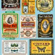 Vintage Labels Collection -Set 18 - Stock Vector