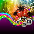 Royalty-Free Stock Imagem Vetorial: Latin Disco Event Flyer for Posters