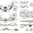 Ornament and Decoration for Classic Designs - Vettoriali Stock 