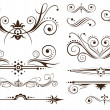 Ornament and Decoration for Classic Designs - Stock Vector