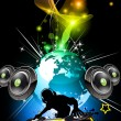 Royalty-Free Stock Vector Image: Alternative Disco Flyer for International Event