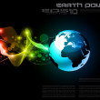 Concept Earth Planet Design Background — Stock Vector #6717733