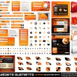 Web design elements extreme collection - Stock Vector