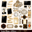 Vintage Elements-Auflistung — Stockvektor  #6718793