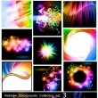 Royalty-Free Stock Vector Image: Rainbow Backgrounds Collection - Set 3