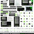 Vector de stock : Web design elements extreme collection