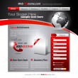 Business WebSite Template — Stockvektor #6719123
