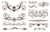 Ornament and Decoration for Classic Designs — Vetor de Stock