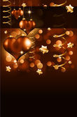 Elegant Valentine's Day Flayer — Stockvector