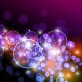 зарево огней с colurs радуга для альтернативных фона — Cтоковый вектор